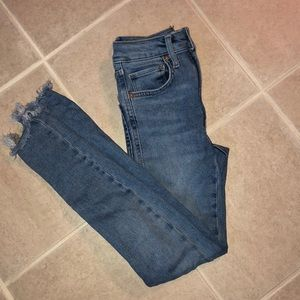 HighRise Free People jeans size 24 (0)